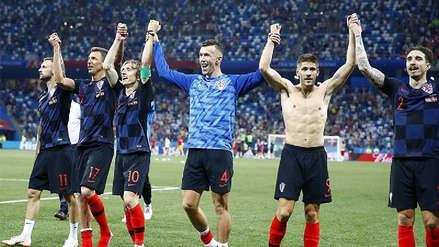 El 11 titular de Croacia para jugar ante Rusia por los cuartos de final