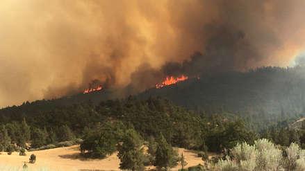 Ola de calor marca temperaturas históricas y aviva incendios en California