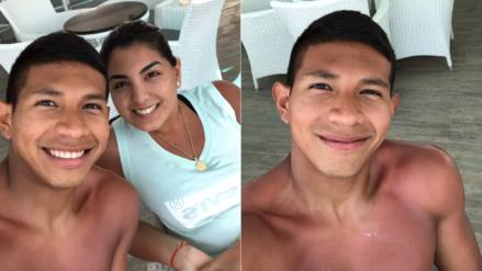 Edison Flores disfruta sus vacaciones tras su participación en Rusia 2018