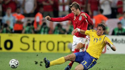 Inglaterra vs. Suecia, el último antecedente entre estos dos equipos en un Mundial