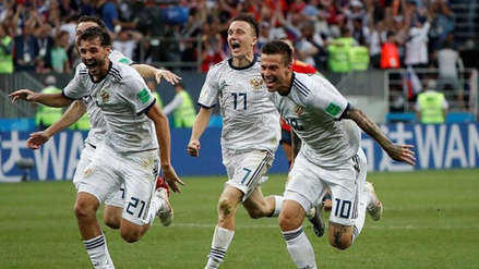 Este es el once confirmado de Rusia que buscará avanzar a las semifinales del Mundial