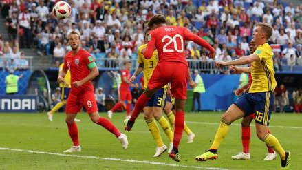 La jugada colectiva de Inglaterra que terminó en este gol de cabeza de Dele Alli