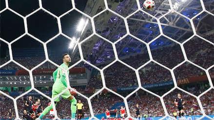Croacia se clasificó a las semifinales del Mundial tras vencer a Rusia en los penales