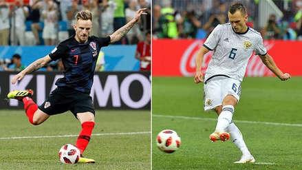 Croacia vs. Rusia EN VIVO EN DIRECTO ONLINE: Canales, goles y minuto a minuto