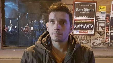 Argentino que fue encontrado en Lima tras 15 años volvió a desaparecer