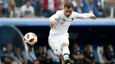 Griezmann explicó por qué no celebró su gol en el Francia vs. Uruguay