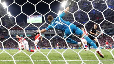 Croacia se clasificó a las semifinales tras vencer a Rusia en la tanda de penales