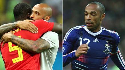 El gran dilema de Thierry Henry en el Bélgica vs. Francia