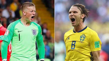Inglaterra vs. Suecia EN VIVO EN DIRECTO ONLINE: Canales, goles y minuto a minuto