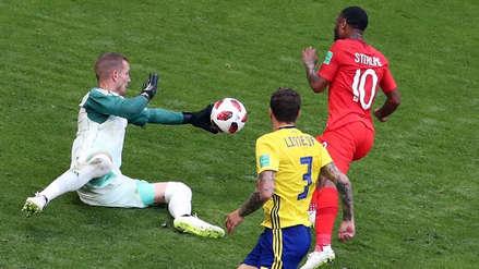 El mano a mano clave de Olsen que salvó a Suecia ante Inglaterra