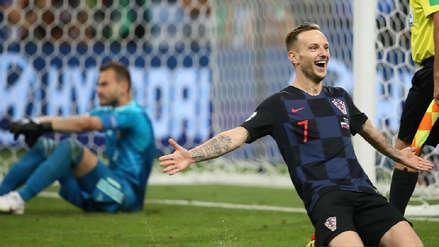 Así fue la infartante definición de los penales entre Croacia y Rusia