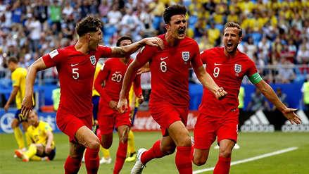 Inglaterra venció por 2-0 a Suecia y clasificó a las semifinales de Rusia 2018