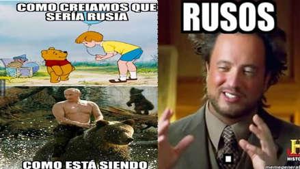 Rusia es protagonista de los memes tras quedar fuera del Mundial