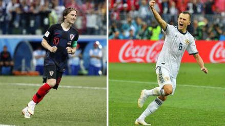 Modric vs. Cheryshev, un duelo de excompañeros del Real Madrid en el Rusia vs. Croacia