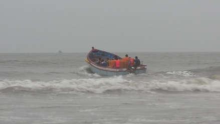 Lambayeque: suspenden actividades de pesca por oleajes anómalos