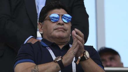Diego Maradona se refirió a las selecciones semifinalistas de Rusia 2018