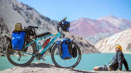 La historia de Javier Martínez, el ciudadano español que recorre el mundo en bicicleta