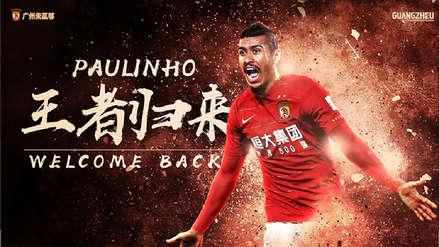 Fichaje | Paulinho se va del Barcelona y regresa a China