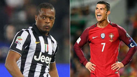 Evra a Cristiano: si no quieres ser una mascota en el Mundial, ve a la Juventus