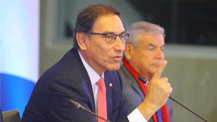 Vizcarra rechazó que usen su nombre en audios que involucran al juez Hinostroza