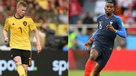 Francia vs. Bélgica EN VIVO ONLINE: hora, canales y alineaciones probables