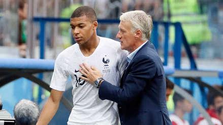 Francia - Bélgica   Mbappé no participó del último entrenamiento a tan solo horas del duelo