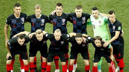 Jugador titular de Croacia quedó descartado para el duelo con Inglaterra