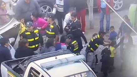 Más de 30 niños fueron evacuados por fuga de cloro cerca de colegio en Chosica