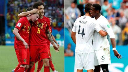 Francia vs. Bélgica | Los 5 datos a saber antes del duelo por las semifinales de Rusia 2018