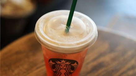 Starbucks dejará de usar sorbetes en todas sus tiendas alrededor del mundo