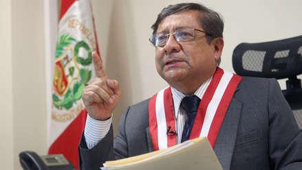 Presidente del CNM indicó que abrirán investigación preliminar a juez César Hinostroza