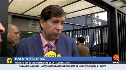 """Consejero del CNM asegura que no incurrió en tráfico de influencias: """"Me da pena por los otros colegas"""""""