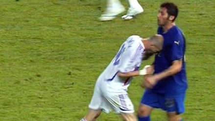 Se cumplen 12 años de cabezazo de Zidane a Materazzi (Video)
