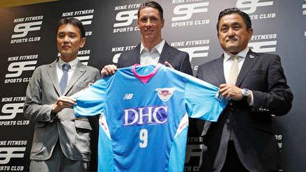 Fernando Torres fichó por el Sagan Tosu de la J1 League de Japón