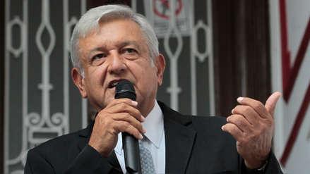 México: López Obrador dice que no habló sobre el muro en conversación con Trump