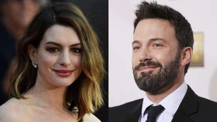 Ben Affleck y Anne Hathaway protagonizarán nuevo filme de Netflix