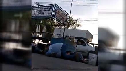Videos | El terror que se vivió durante un enfrentamiento entre militares y civiles en México