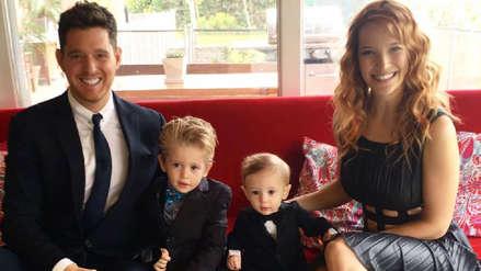 Michael Bublé comparó la enfermedad de su primer hijo con un infierno