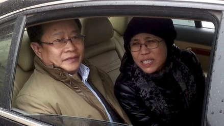 """Liu Xia, viuda del Nobel de la Paz Liu Xiaobo, viajó a Alemania para recibir """"tratamiento médico"""""""