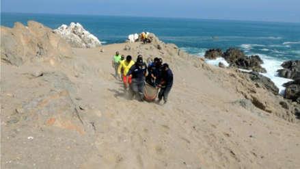 Dos pescadores murieron al naufragar su embarcación en Ocoña