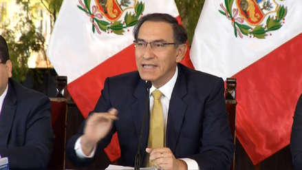Presidente Vizcarra pidió a gobiernos regionales no retrasar obras por las elecciones