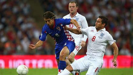¿Cómo quedaron la última vez que Inglaterra y Croacia se enfrentaron?