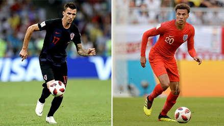 Inglaterra vs. Croacia EN VIVO ONLINE: hora, canales y alineaciones probables