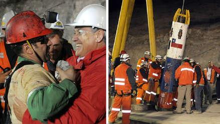 Mario Sepúlveda, uno de los 33 mineros chilenos, celebró rescate de niños de Tailandia