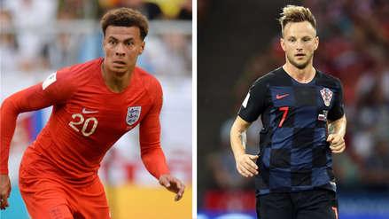 Inglaterra vs. Croacia | Alli y Rakitic: juventud y experiencia se cruzan en semifinales