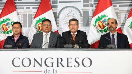 Junta de Portavoces acordó pasar remoción de funcionarios del CNM a la Comisión de Justicia