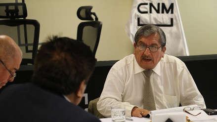 CNM inicia proceso de vacancia al consejero Julio Gutiérrez Pebe por audios