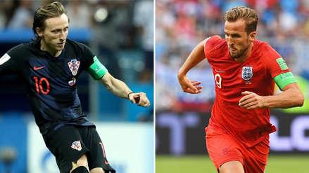Luka Modric vs. Harry Kane, los más talentosos con el balón en el Croacia vs. Inglaterra