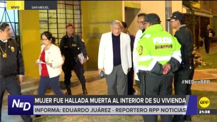 La Policía investiga un presunto caso de feminicidio en San Miguel
