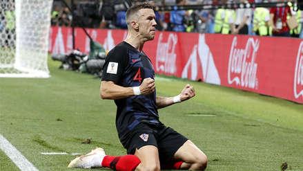 Ivan Perisic sorprendió a su marcador para empatar el partido ante Inglaterra